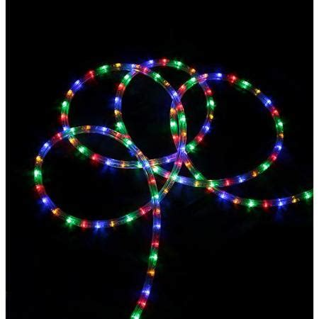 18 multi color led indoor outdoor christmas rope lights