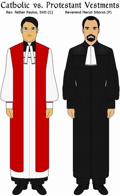 Protestant Catholic Bible Clipart Protestantism Clothing Catholicism