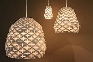 Louise Campbell's Intricate Papercuts Lamps Shine at Milan ...