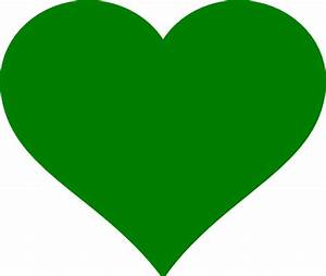 Green Heart Clip Art at Clker.com