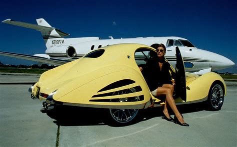 An altered vintage Talbot Lago, a private jet, and a ...