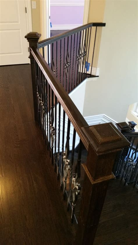 Hardwood Stair Railing Refinishing Monmouth County