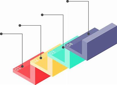 Step Stair Infographic Staircase Graphic Transparent Progress