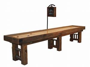 Shuffleboard Table Video on Handcrafted in AmericaMcClure