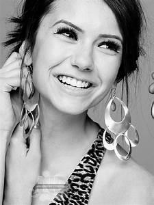 Nina Dobrev Picture Contest♥Round Seven Black & White Poll ...