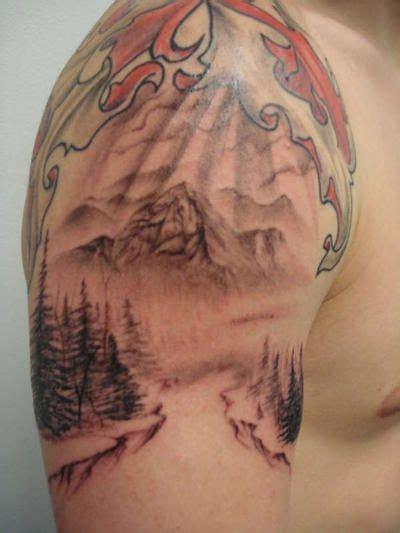Mountain Tattoo Sleeve Pinterest