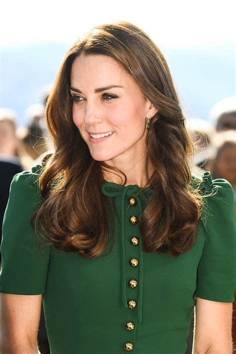 Images Of Hair by Kate Middleton Says She Is Lucky To Be A Real