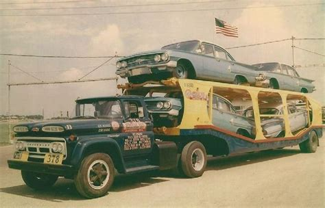 transport a 1960 chevy c60 to chesterfield 1960 chevrolet c60 truck with car carrier trailer