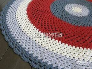 Round rug crochet pattern ⋆ Crochet Kingdom