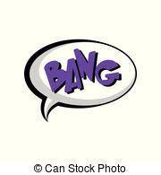 Comic Cartoon Bang Exsplosion With Surprise Text Vector
