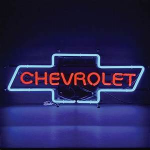 Chevrolet Bowtie Neon Sign TP Tools & Equipment