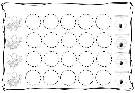Circles Tracing Worksheets For Kids (3) « Preschool And Homeschool