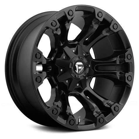 black wheels fuel d560 vapor 1pc wheels matte black rims