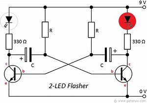 2 Led Flasher With Calculator