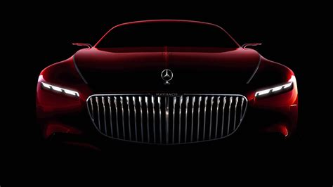 Vision Mercedes Maybach 6 Coupe 5k Wallpaper