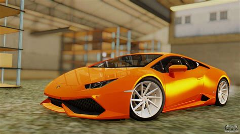 Lamborghini Huracan Lp610-4 2015 For Gta San Andreas