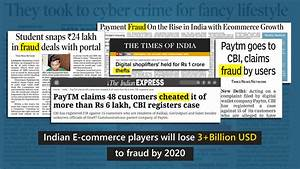 India e-commerce players will lose 3+ billion USD to fraud ...