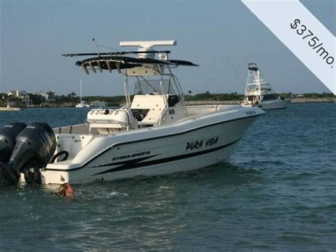 Hydra Sport Boats Used by Hydra Sports 2600 Cc Vector In Florida Power Boats Used