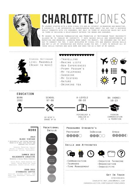 25 best ideas about fashion resume on