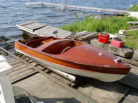 Classic Wooden Boat Plans Australia by Classic Antique Wooden Boats For Sale Port Carling Boats