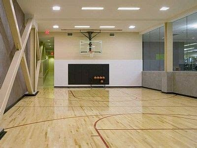 Indoor Basketball Court In The Basementdream Home