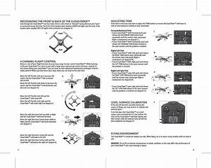 Asian Express Pl1431 Cloud Rider Drone User Manual Propel