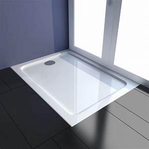 Duschtasse 80 X 100 : der rechteckig abs duschwanne duschtasse 80 x 100 cm online shop ~ A.2002-acura-tl-radio.info Haus und Dekorationen