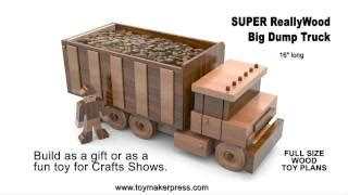 wooden toy semi truck plans woodworking projects