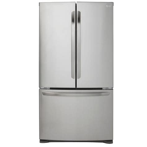 cabinet depth refrigerator lg electronics 20 9 cu ft french door refrigerator in