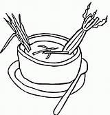Soup Coloring Celery Printable Drawing Supercoloring Dog Bowl Tasty Getdrawings Coloringhome Mcdonalds sketch template