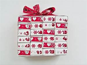 Fabriquer Un Calendrier De L Avent : fabriquer un calendrier de l 39 avent avec des bo tes d ~ Nature-et-papiers.com Idées de Décoration