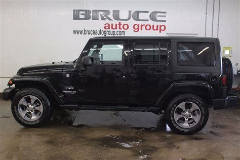buick jeep 2016 used 2016 jeep wrangler unlimited sahara 3 6l 6 cyl