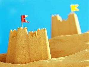 Sand Castle Wallpaper - WallpaperSafari