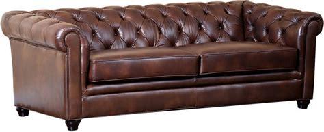 chestnut leather sofa one royal 86 tufted leather sofa chestnut 2156