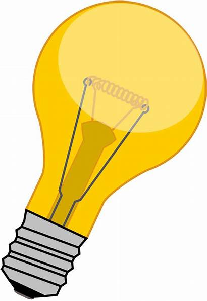 Icon Lightbulb Svg Bulb Clipart Vectorized Commons