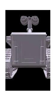 3D wall - E robot - YouTube