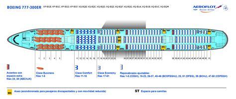 plan siege boeing 777 300er flota de aviones aeroflot