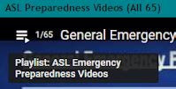 ASL Videos Accessible Emergency Information