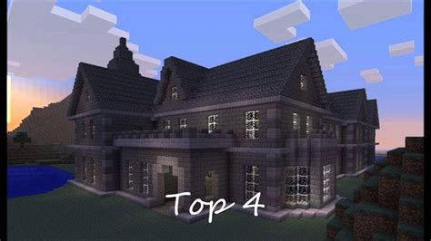top  minecraft house designs   youtube