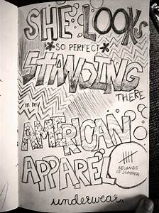 My lyric doodle ^.^ She Looks So Perfect - 5 Seconds of ...