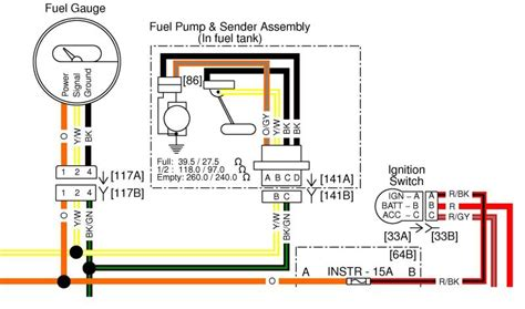 Harley Fuel Wiring Diagram by Harley Davidson Gas Tank Wiring Wiring Diagram