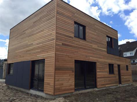 maison en panneaux de bois construction d une maison ossature bois 224 hallennes haubourdin maison bois nord