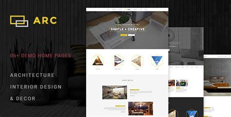 arc interior design decor architecture wordpress theme
