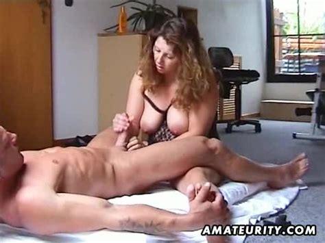 Chubby And Busty Amateur Milf Fucks With Handjob Milf Porn