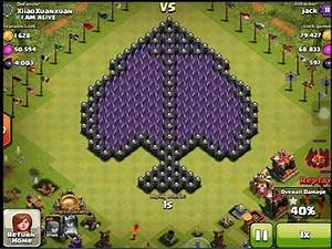 clash of clans : high level attack strategy 240 archer lvl ...