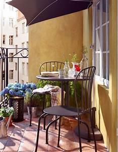 Table De Balcon Ikea : 20 id es pour amenager un petit balcon elle d coration ~ Teatrodelosmanantiales.com Idées de Décoration