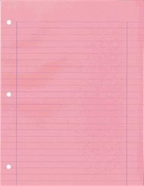 colored lined paper colored lined notebook paper pink shabby