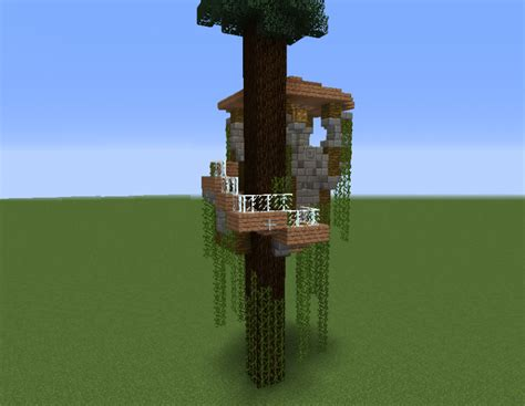 small tree house blueprints  minecraft houses castles towers   grabcraft