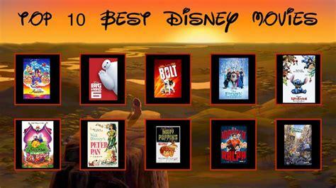 My Top 10 Best Disney Movies By Foxprinceagain On Deviantart
