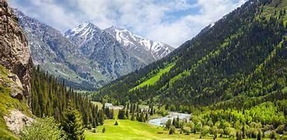 Mountains Kazakhstan Alatau Remote Country Motorcycling Enquire
